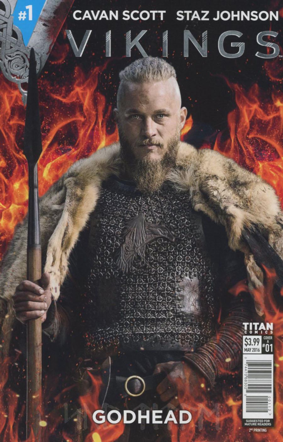 Vikings #1 Cover E 2nd Ptg Shane Pierce Variant Cover