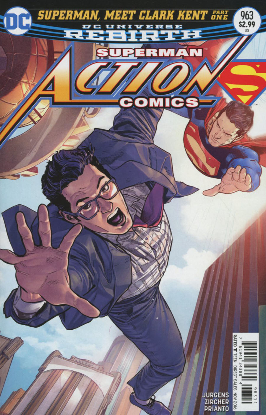 Action Comics Vol 2 #963 Cover A Regular Clay Mann Cover