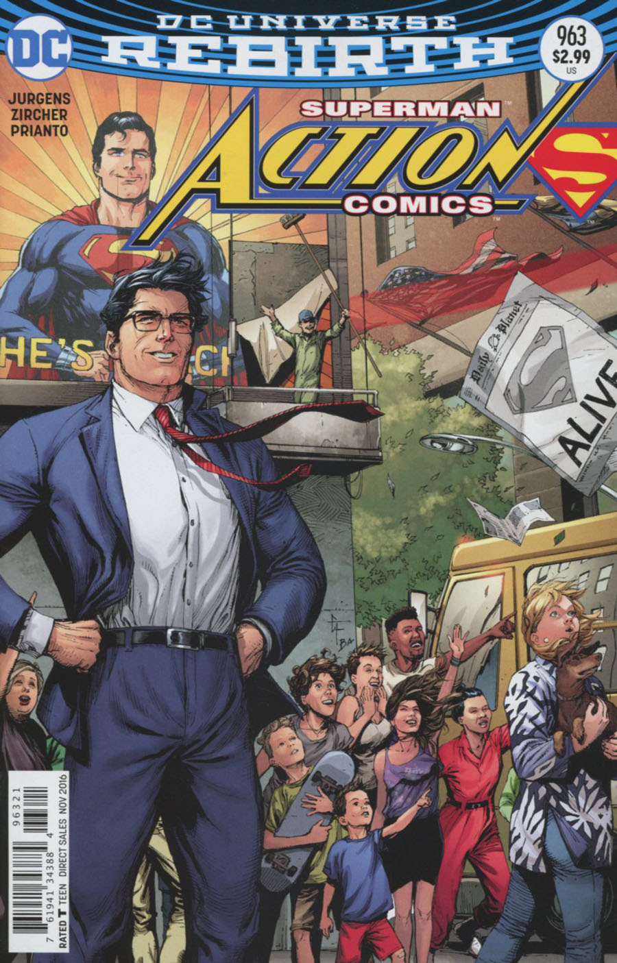Action Comics Vol 2 #963 Cover B Variant Gary Frank Cover