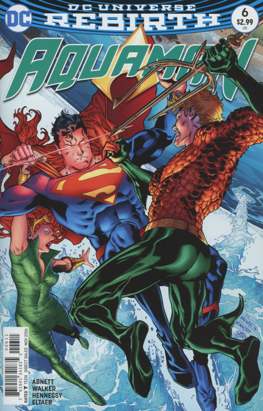 Aquaman Vol 6 #6 Cover A Regular Brad Walker Cover