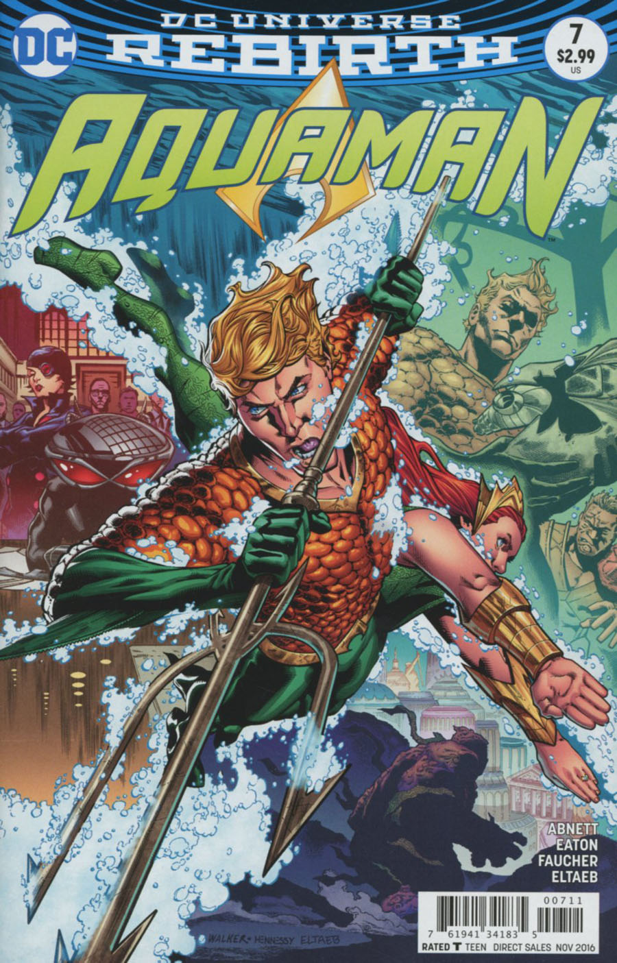 Aquaman Vol 6 #7 Cover A Regular Brad Walker Cover