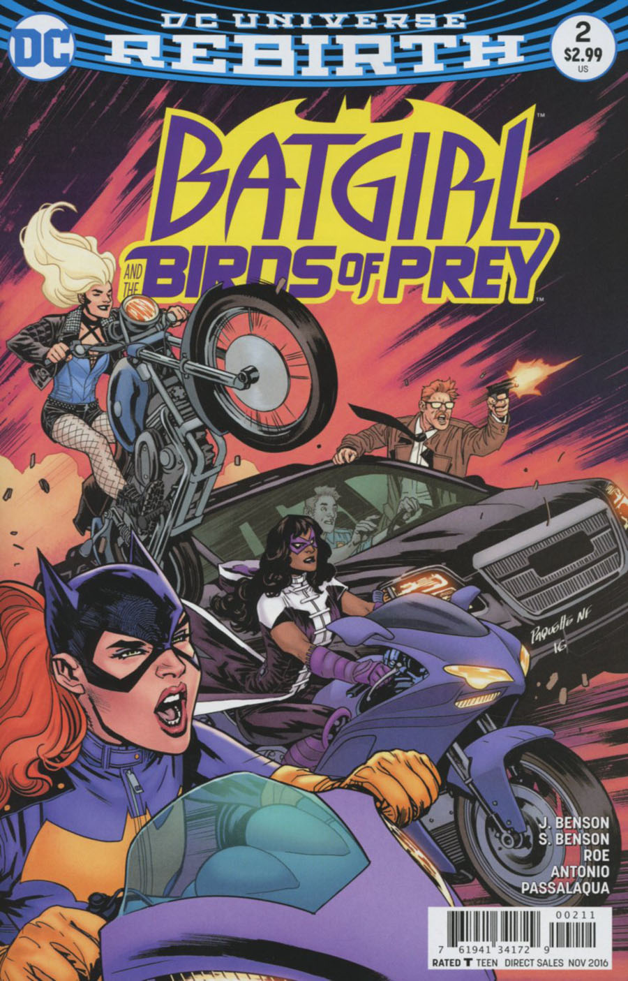 Batgirl And The Birds Of Prey #2 Cover A Regular Yanick Paquette Cover