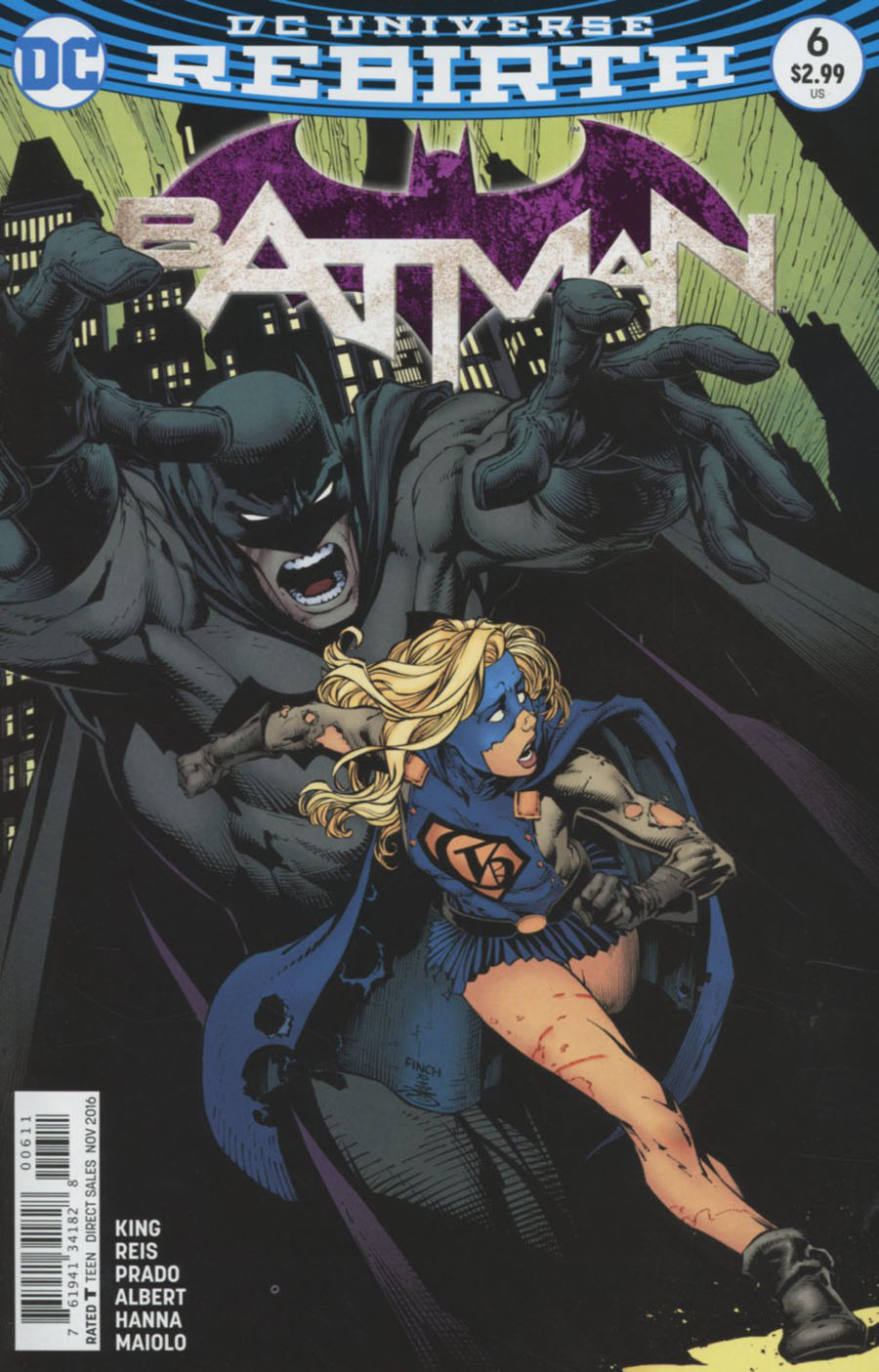 Batman Vol 3 #6 Cover A Regular David Finch Cover