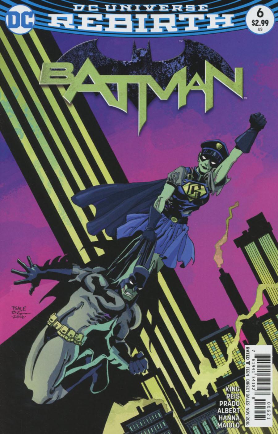 Batman Vol 3 #6 Cover B Variant Tim Sale Cover