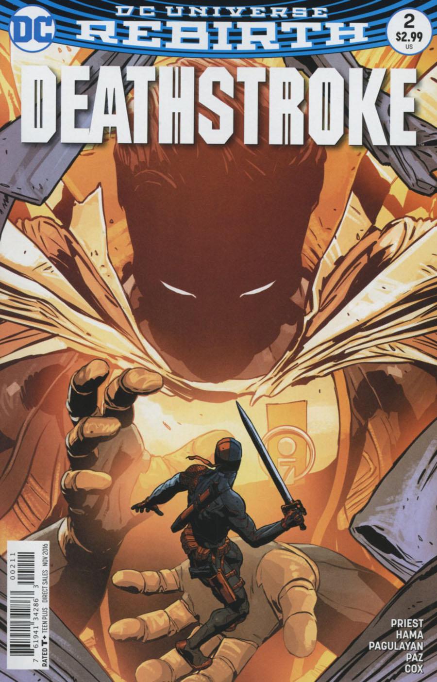 Deathstroke Vol 4 #2 Cover A Regular Aco Cover