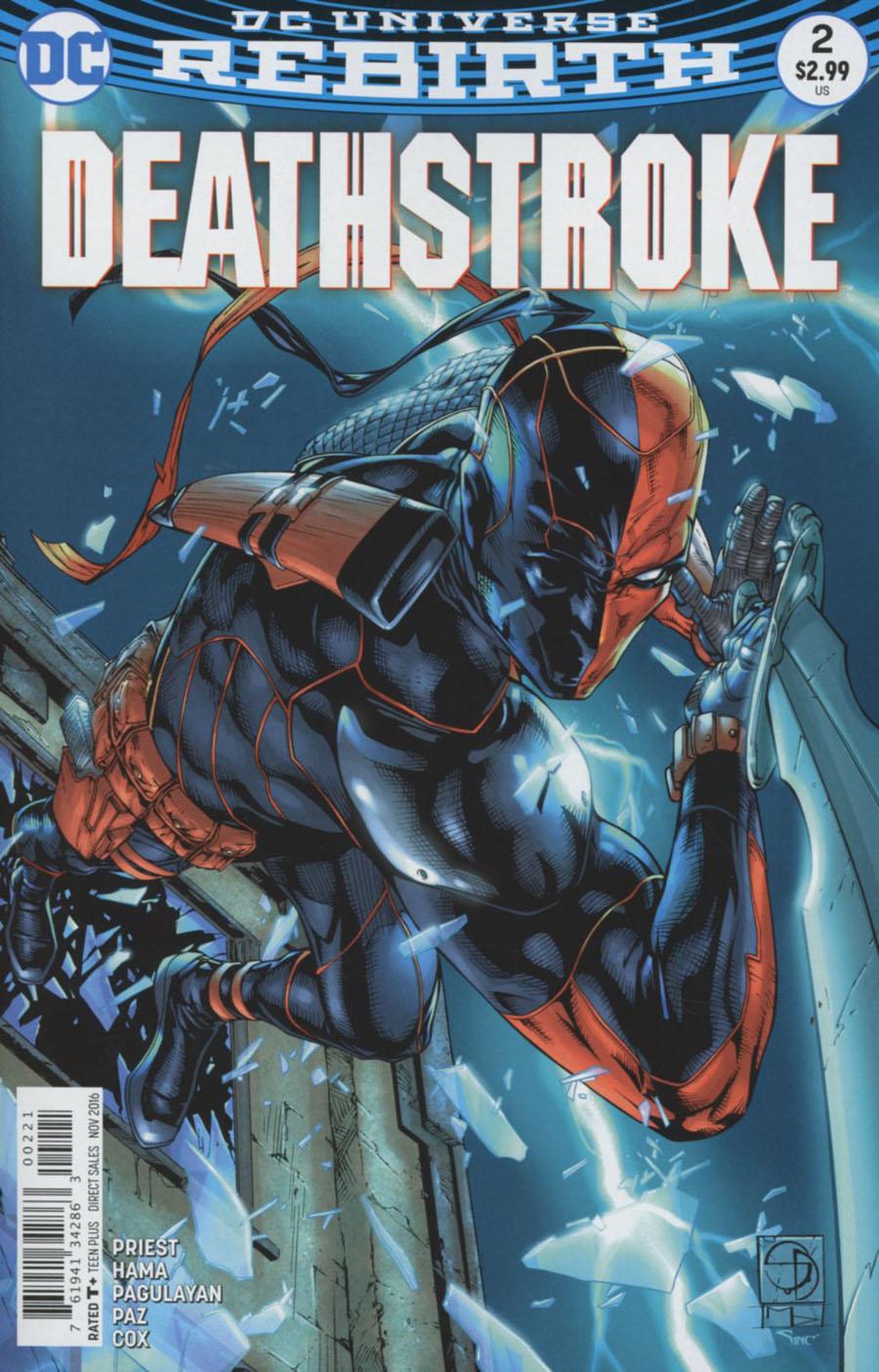 Deathstroke Vol 4 #2 Cover B Variant Shane Davis Cover