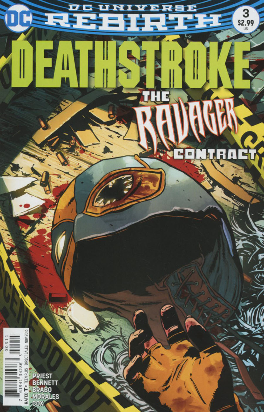 Deathstroke Vol 4 #3 Cover A Regular Aco Cover