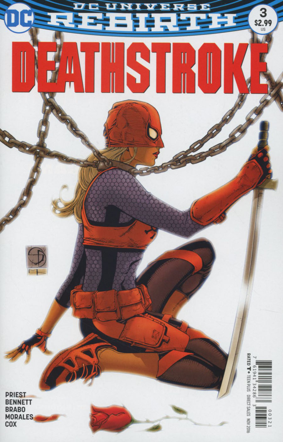 Deathstroke Vol 4 #3 Cover B Variant Shane Davis Cover