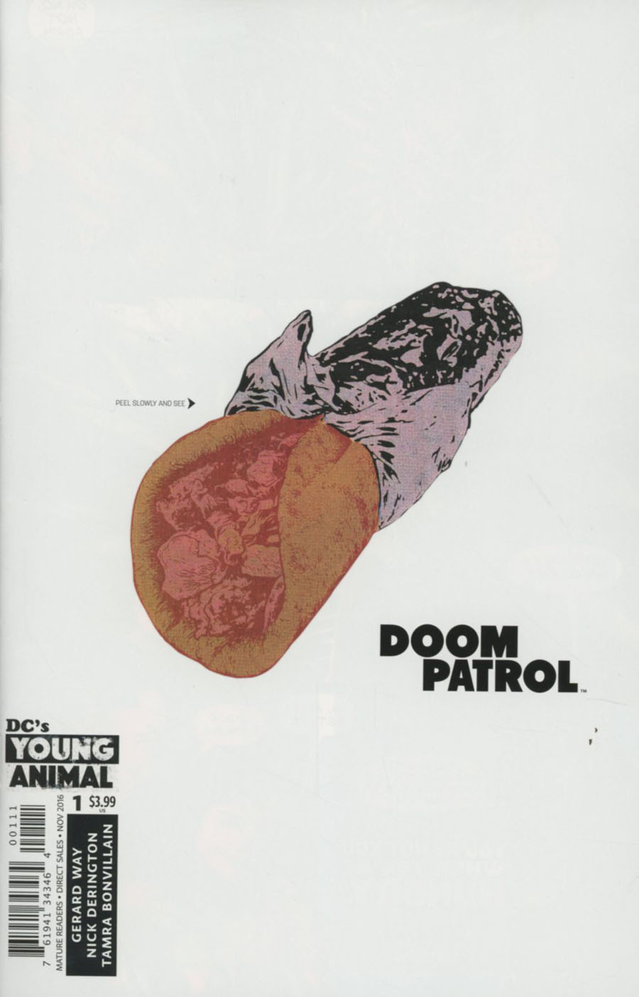 Doom Patrol Vol 6 #1 Cover A 1st Ptg Regular Nick Derington Cover