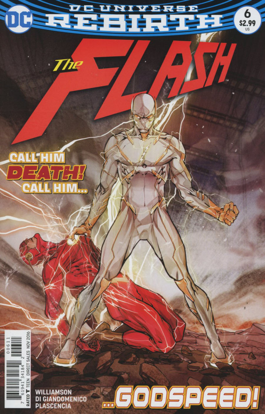 Flash Vol 5 #6 Cover A Regular Carmine Di Giandomenico Cover
