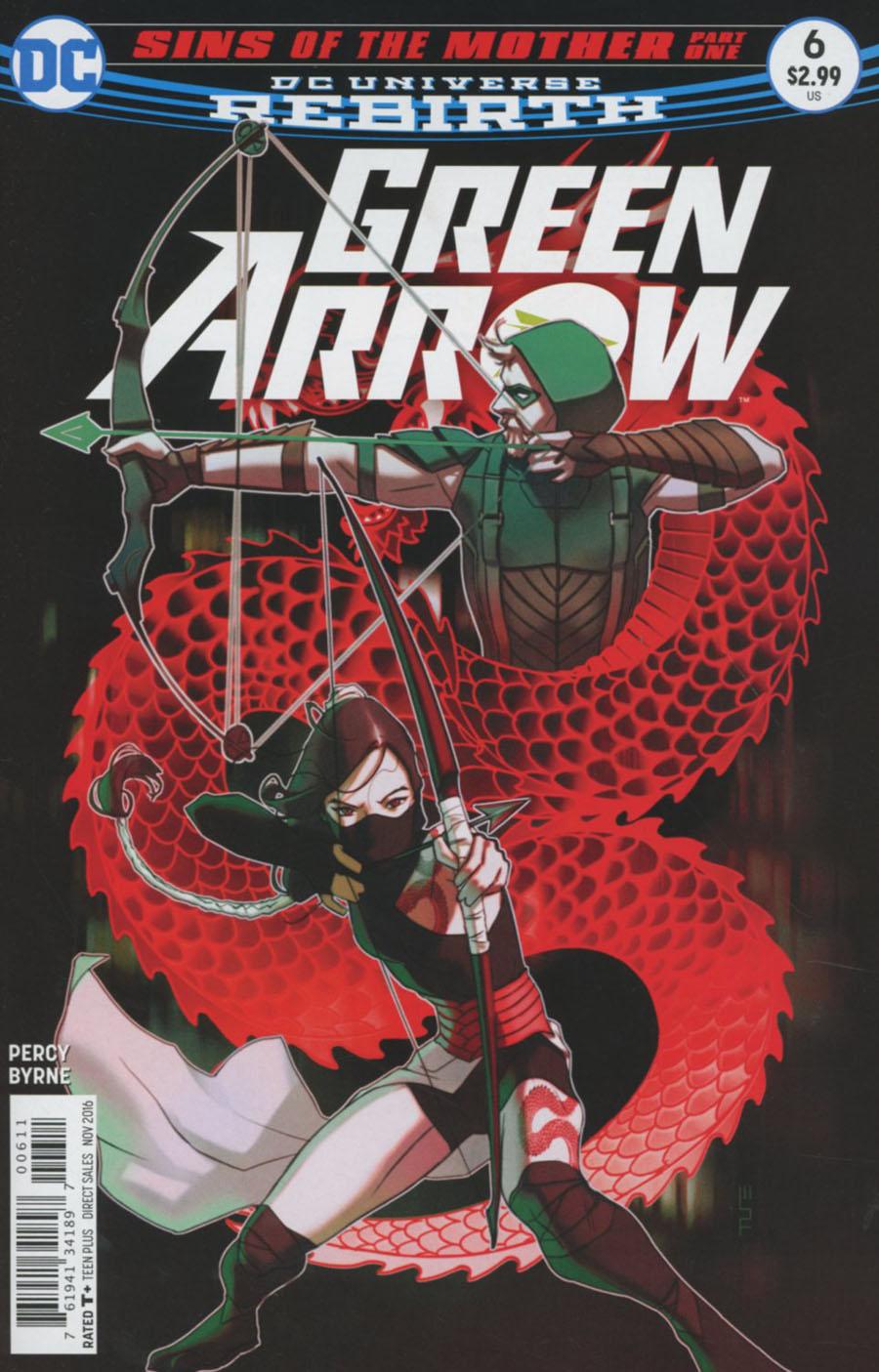 Green Arrow Vol 7 #6 Cover A Regular W Scott Forbes Cover