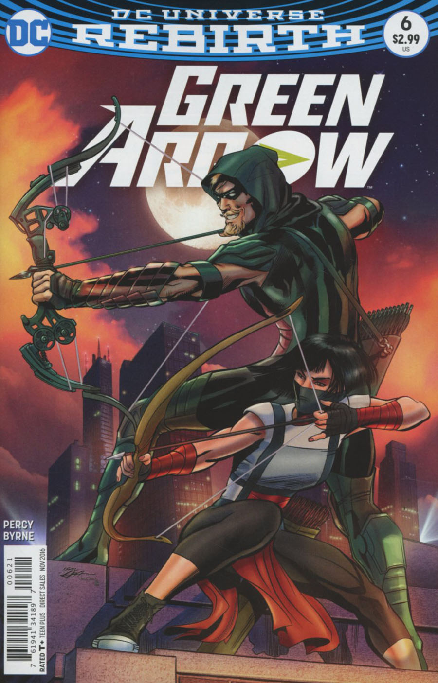 Green Arrow Vol 7 #6 Cover B Variant Neal Adams Cover