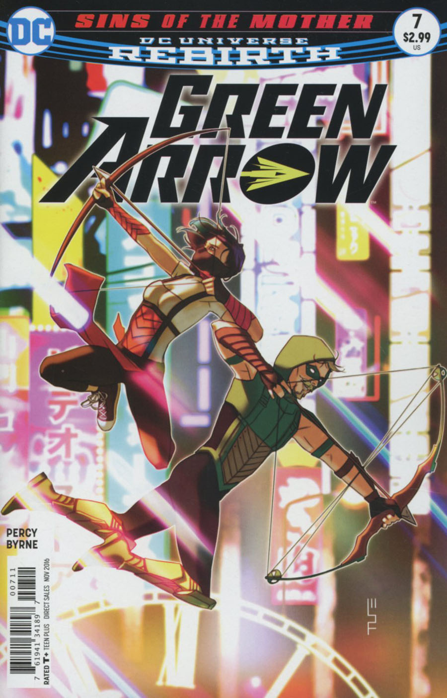 Green Arrow Vol 7 #7 Cover A Regular W Scott Forbes Cover