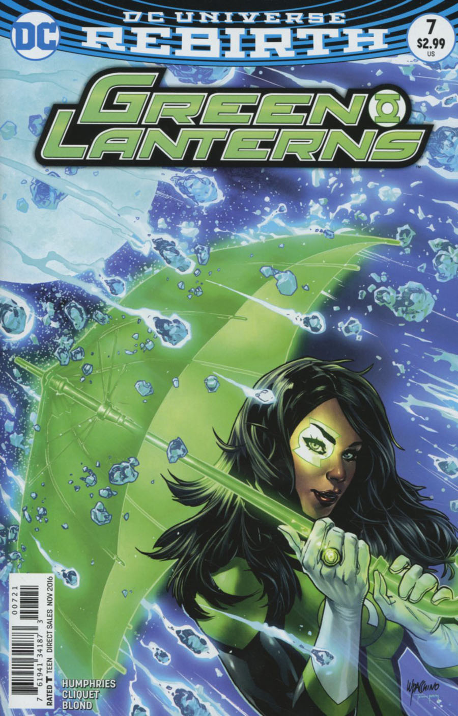 Green Lanterns #7 Cover B Variant Emanuela Lupacchino Cover