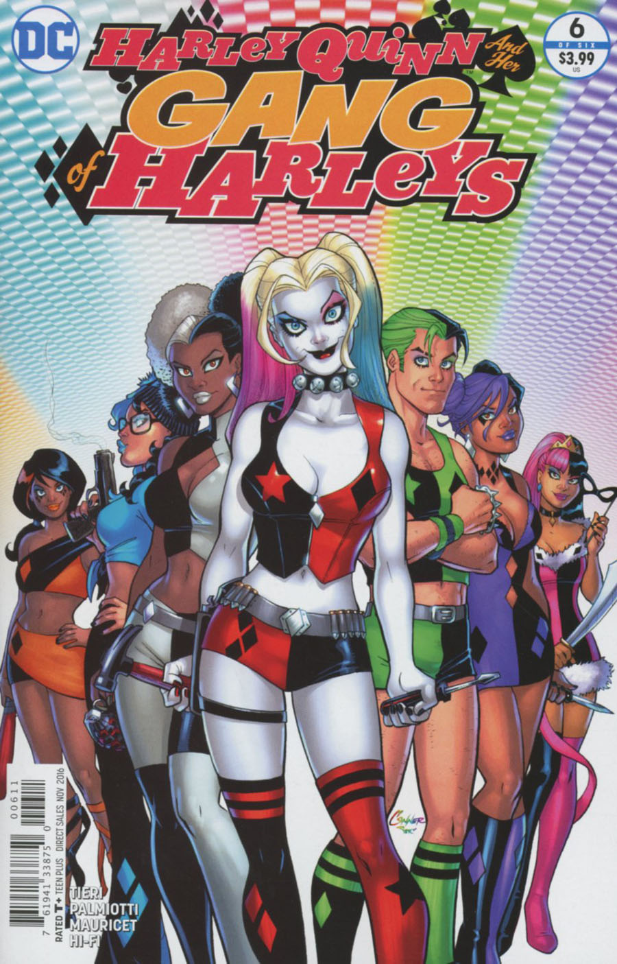 Harley Quinn And Her Gang Of Harleys #6 Cover A Regular Amanda Conner Cover