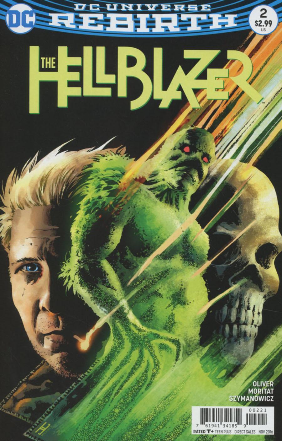 Hellblazer Vol 2 #2 Cover B Variant John Cassaday Cover