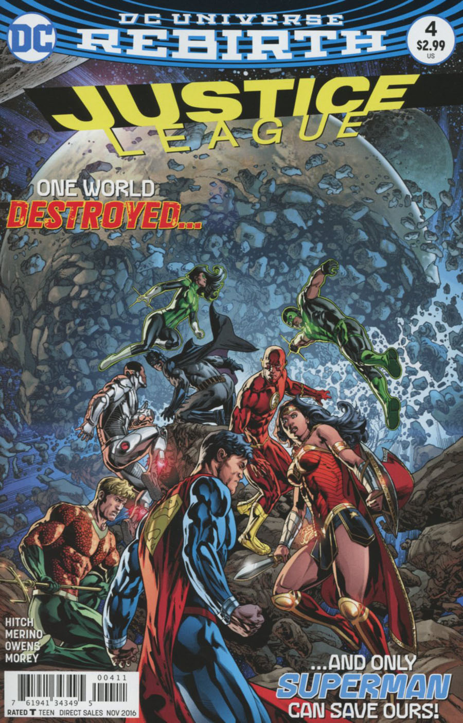 Justice League Vol 3 #4 Cover A Regular Fernando Pasarin Cover