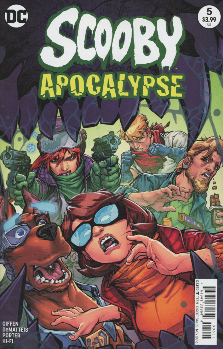 Scooby Apocalypse #5 Cover A Regular Howard Porter Cover