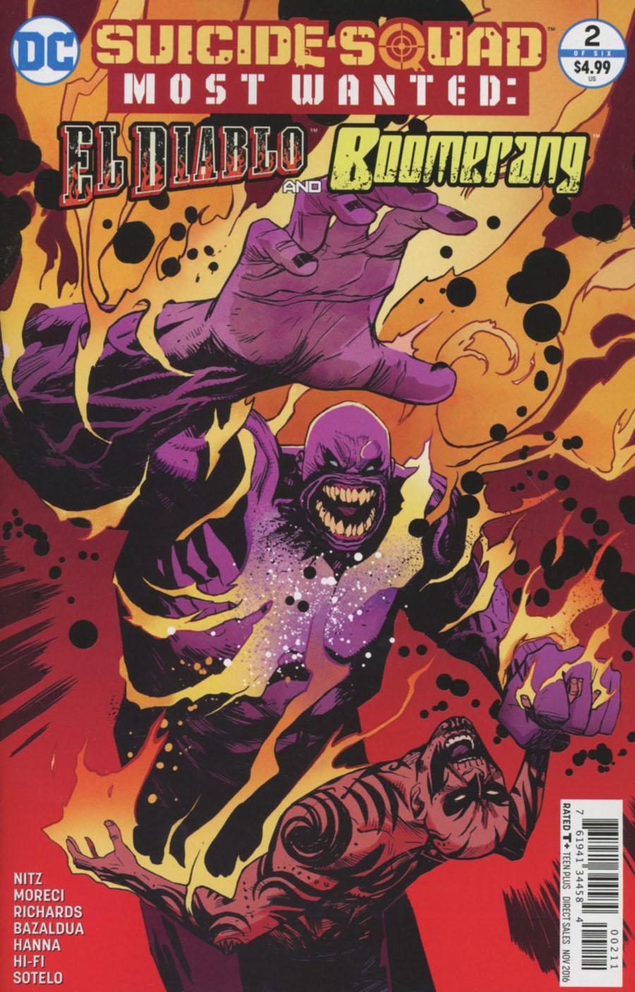 Suicide Squad Most Wanted El Diablo & Boomerang #2