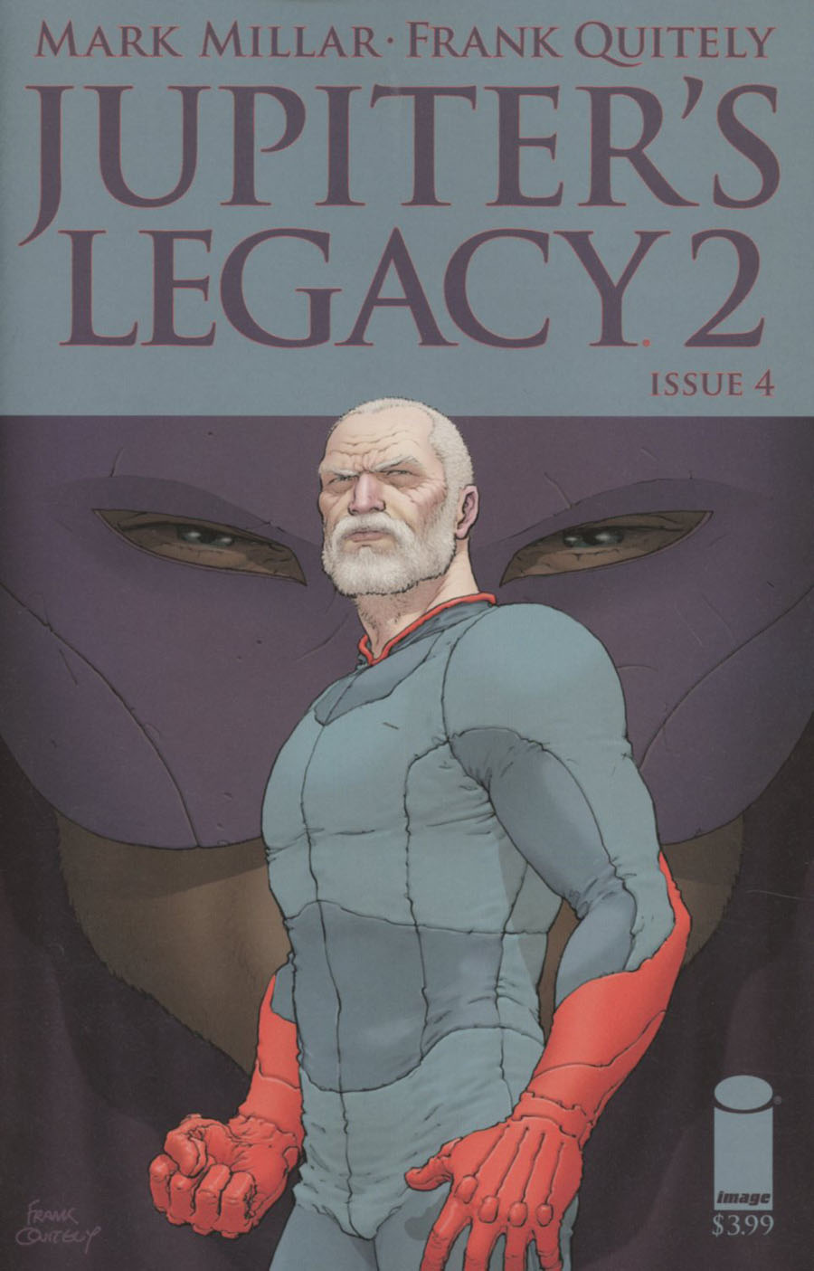 Jupiters Legacy Vol 2 #4 Cover A Regular Frank Quitely Cover
