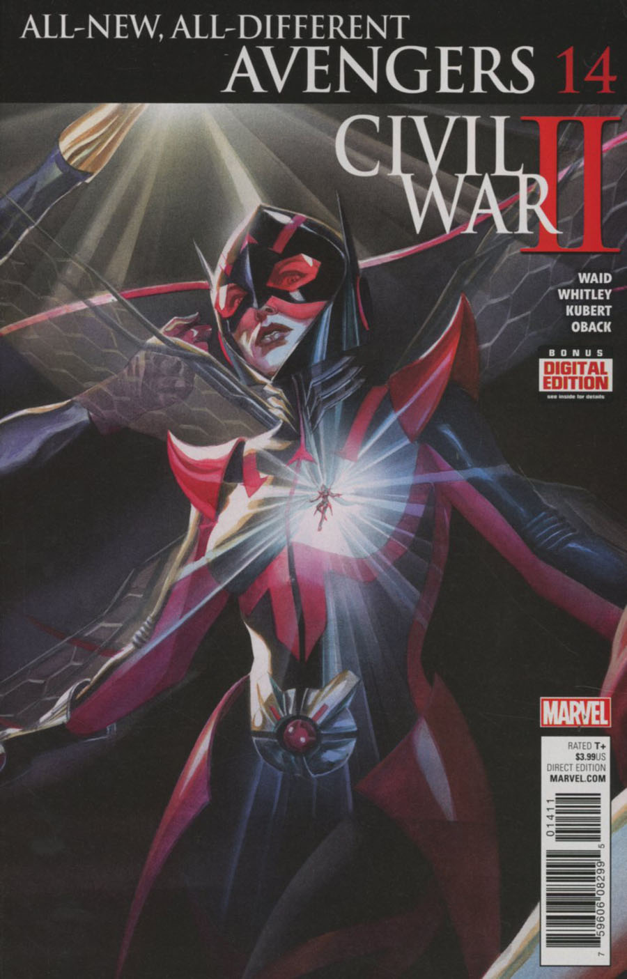 All-New All-Different Avengers #14 Cover A Regular Alex Ross Cover (Civil War II Tie-In)