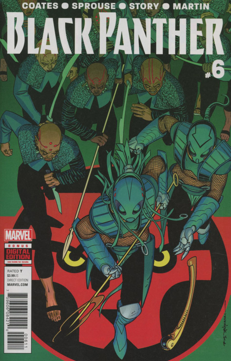 Black Panther Vol 6 #6 Cover A Regular Brian Stelfreeze Cover