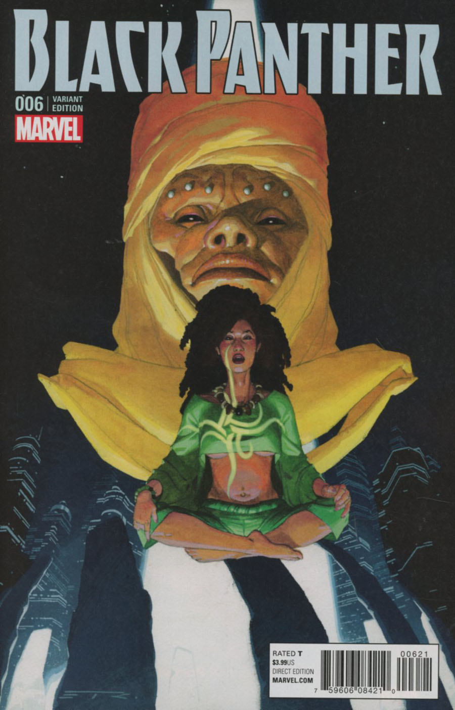 Black Panther Vol 6 #6 Cover B Variant Esad Ribic Connecting B Cover