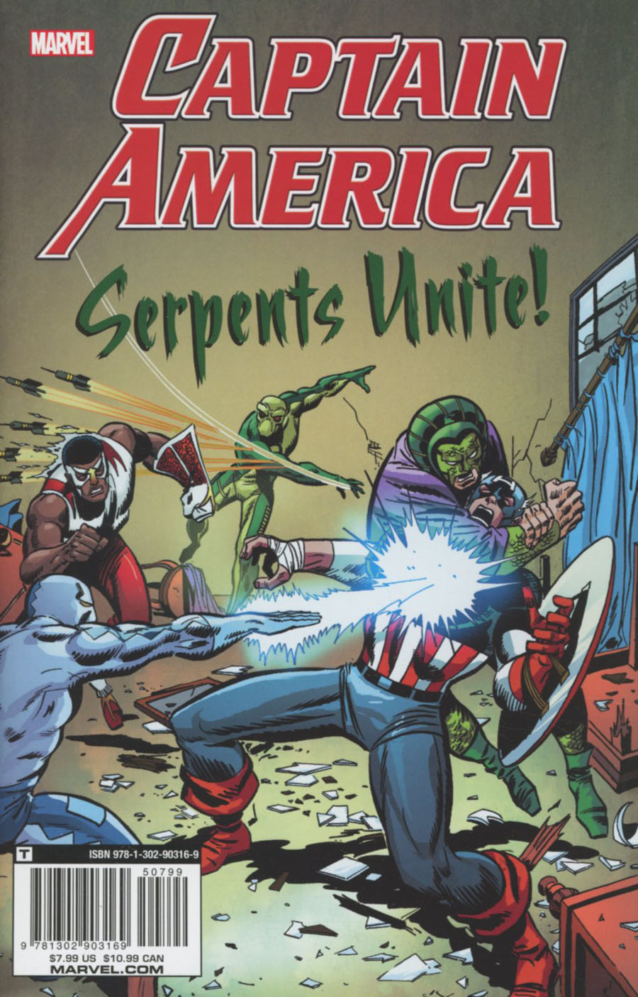 Captain America Serpents Unite