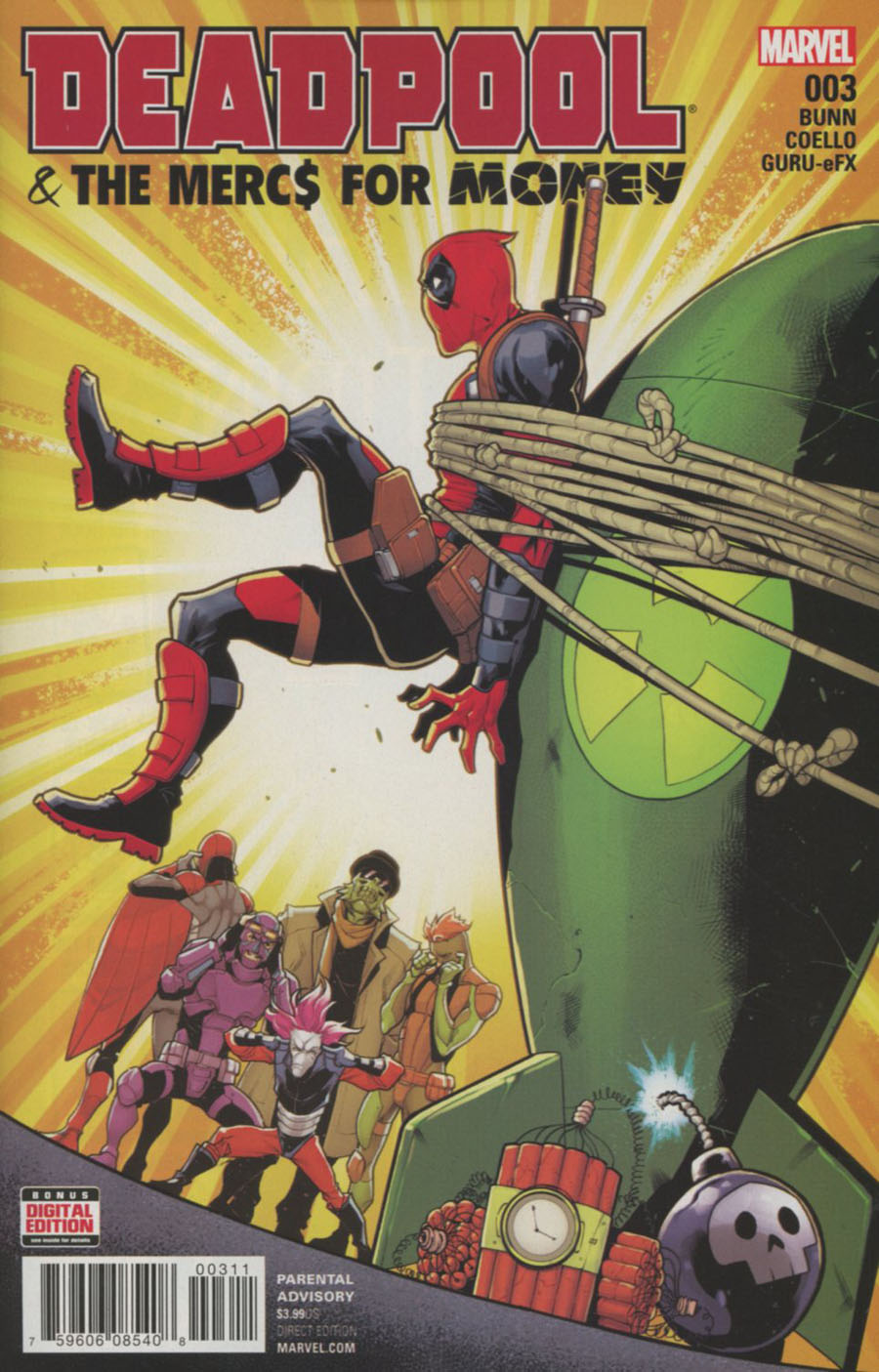 Deadpool And The Mercs For Money Vol 2 #3 Cover A Regular Iban Coello Cover