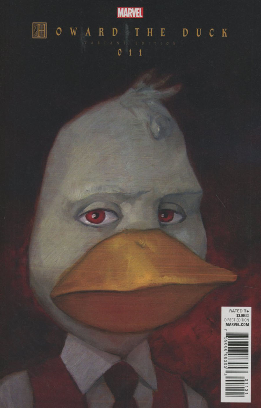 Howard The Duck Vol 5 #11 Cover B Variant Chip Zdarsky Last Issue Cover