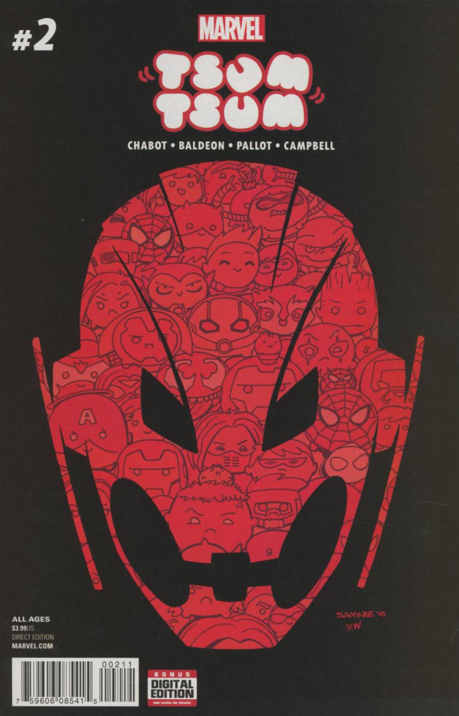 Marvel Tsum Tsum #2 Cover A Regular Chris Samnee Cover
