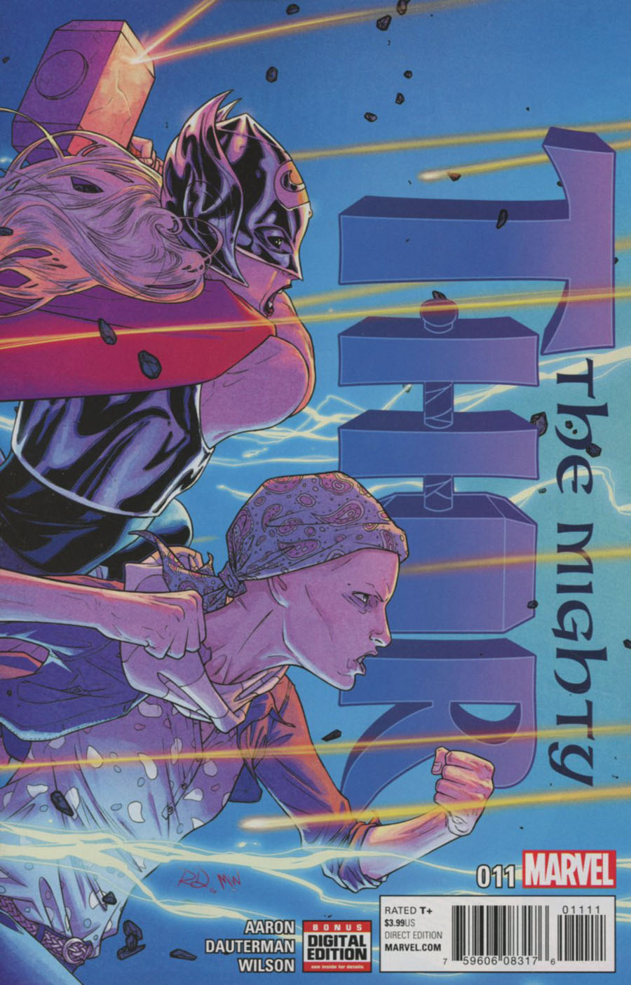 Mighty Thor Vol 2 #11 Cover A Regular Russell Dauterman Cover