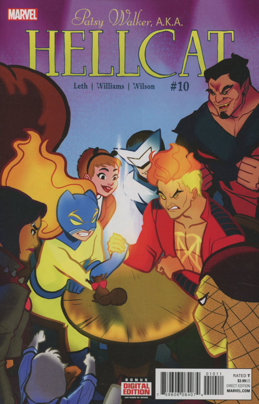 Patsy Walker AKA Hellcat #10 Cover A Regular Brittney L Williams Cover