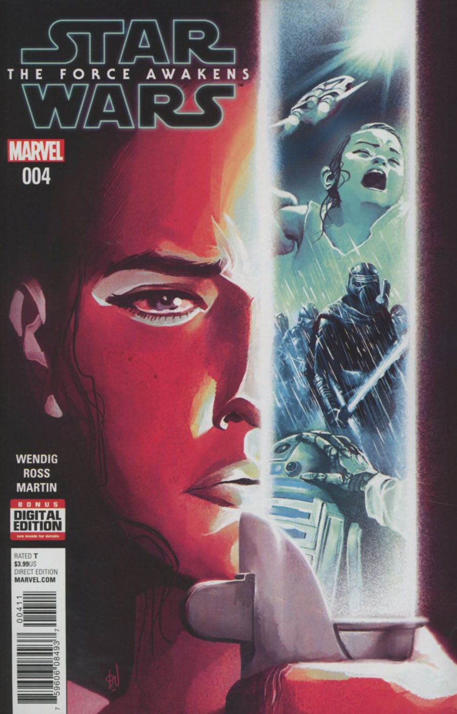 Star Wars Episode VII The Force Awakens Adaptation #4 Cover A Regular Mike Del Mundo Cover