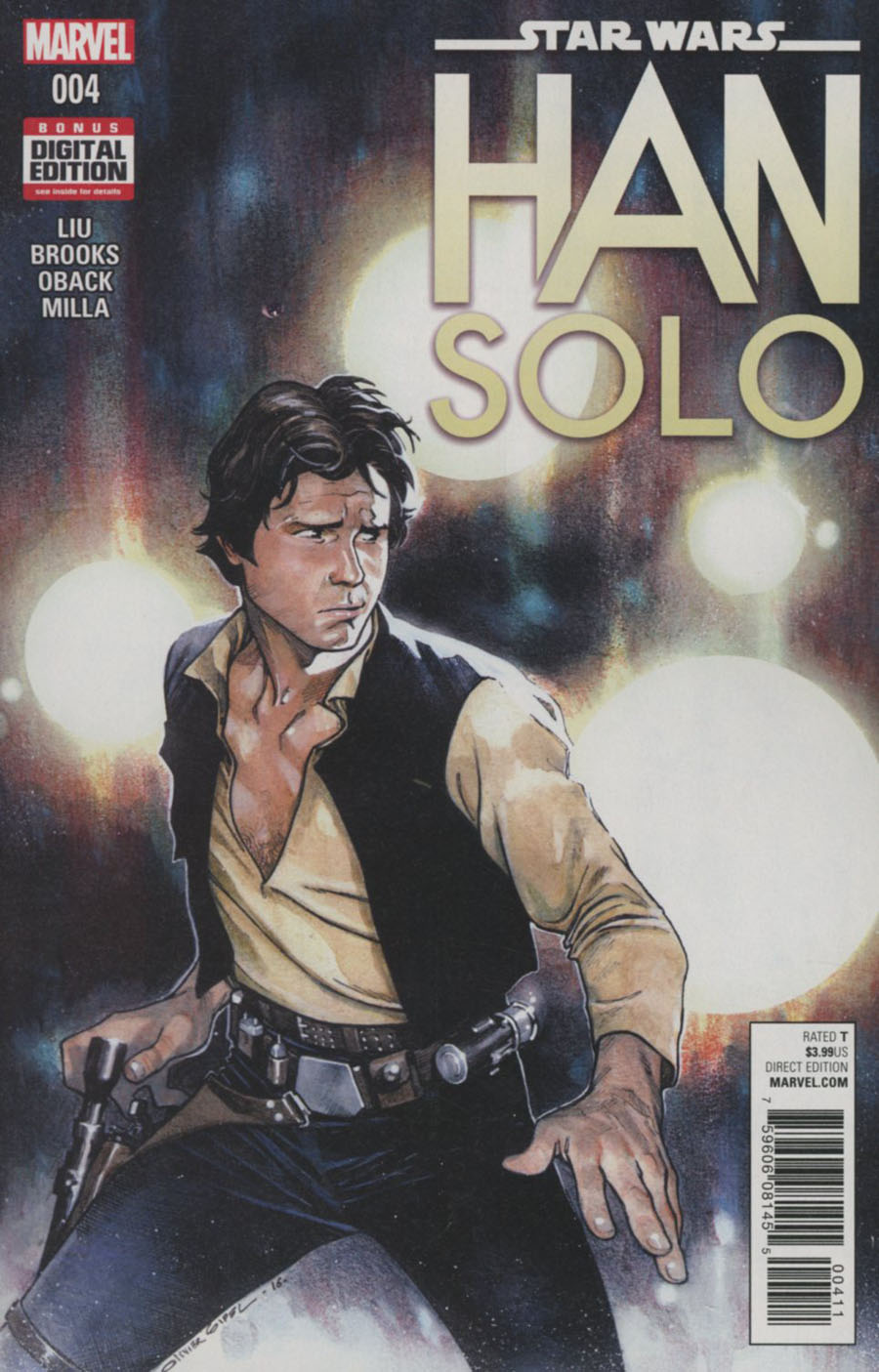 Star Wars Han Solo #4 Cover A Regular Olivier Coipel Cover