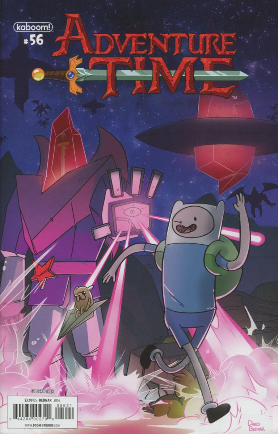 Adventure Time #56 Cover B Variant David Bendar Subscription Cover