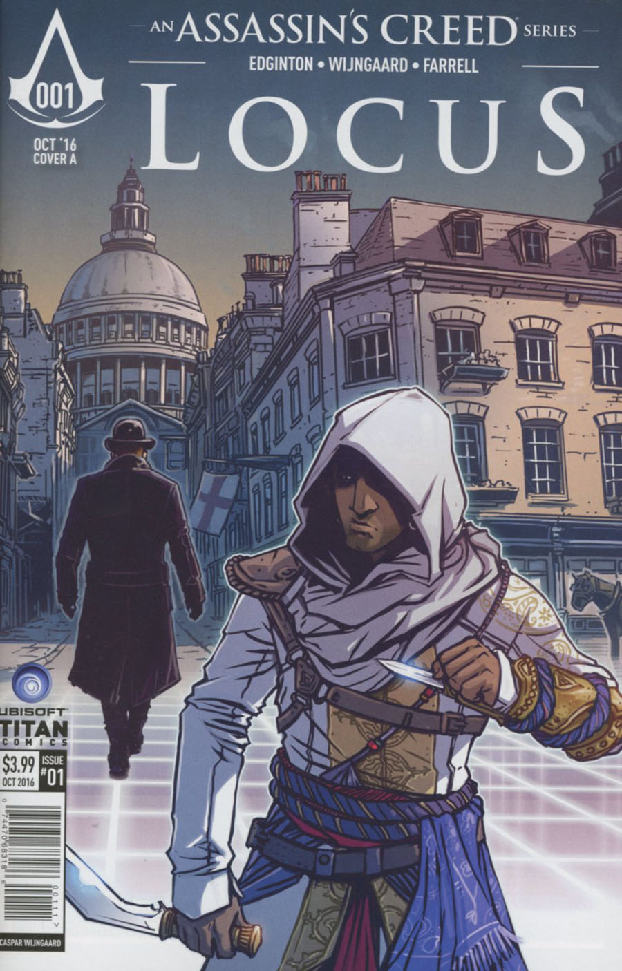 Assassins Creed Locus #1 Cover A Regular Caspar Wijngaard Cover