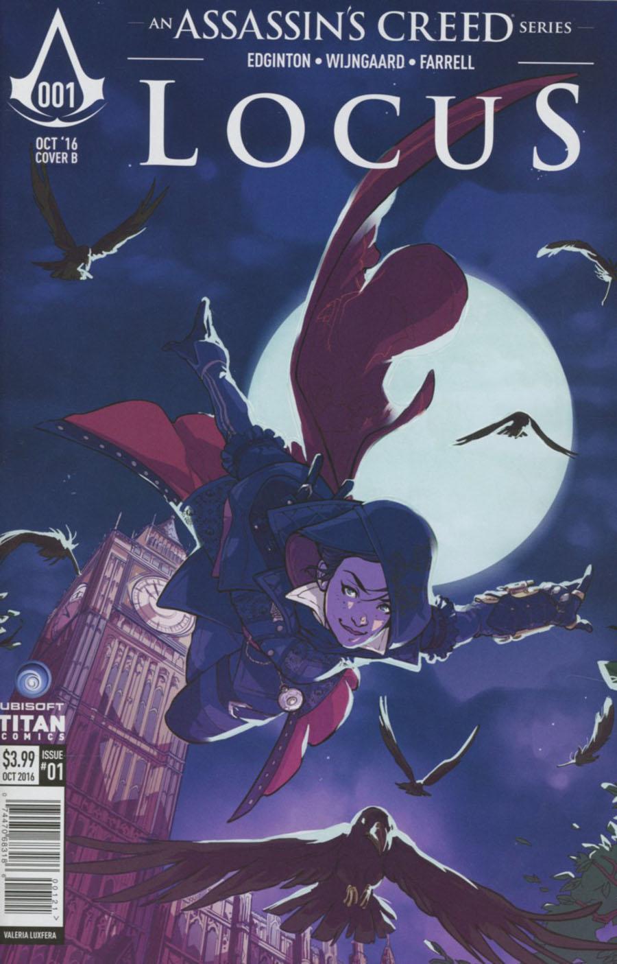 Assassins Creed Locus #1 Cover B Variant Valeria Favoccia Cover