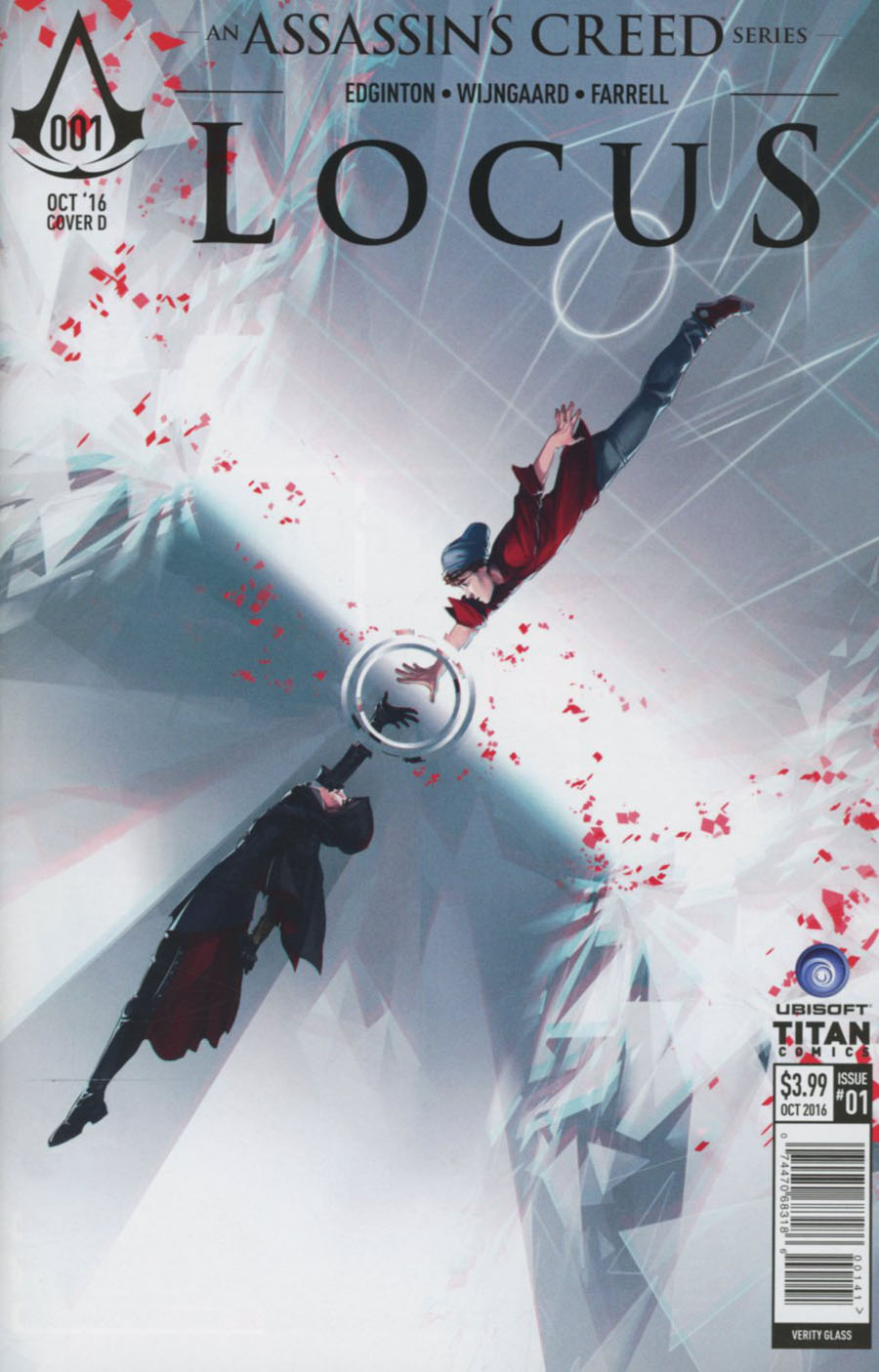 Assassins Creed Locus #1 Cover D Variant Verity Glass Cover