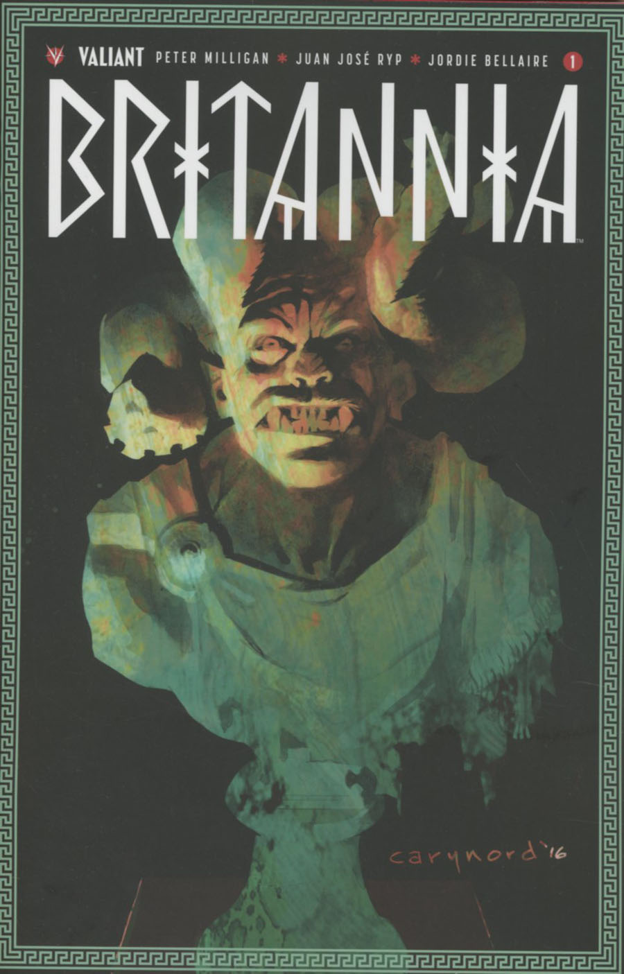 Britannia #1 Cover A 1st Ptg Regular Cary Nord Cover
