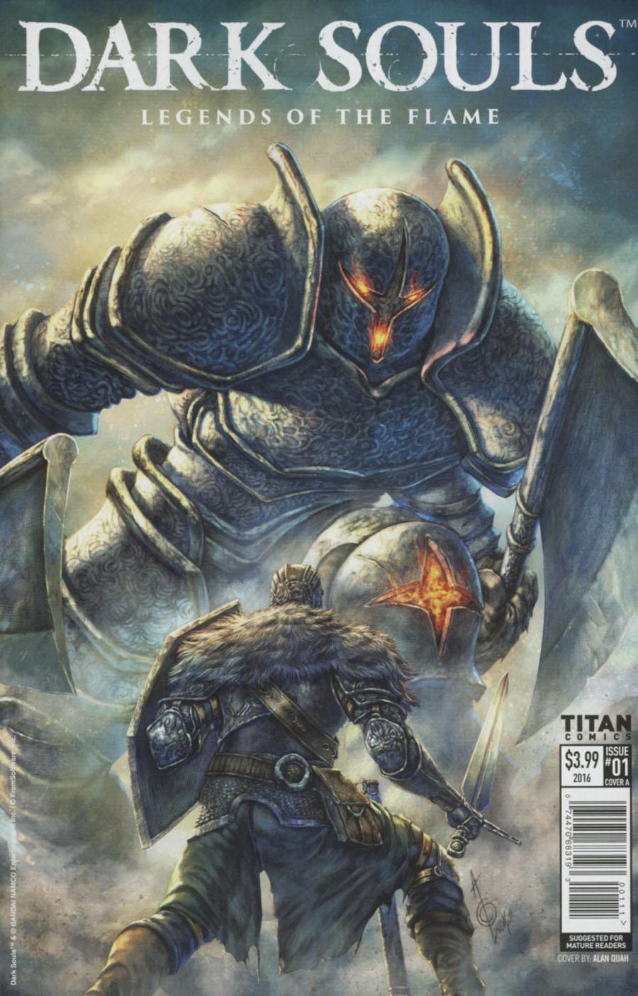 Dark Souls Legends Of The Flame #1 Cover A Regular Alan Quah Cover