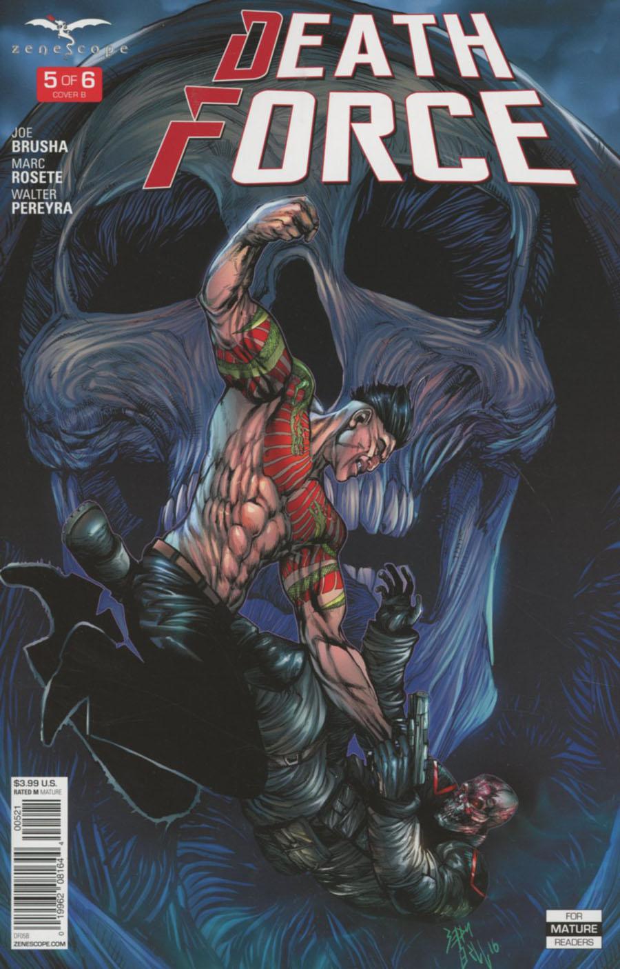 Death Force #5 Cover B Sean Hill