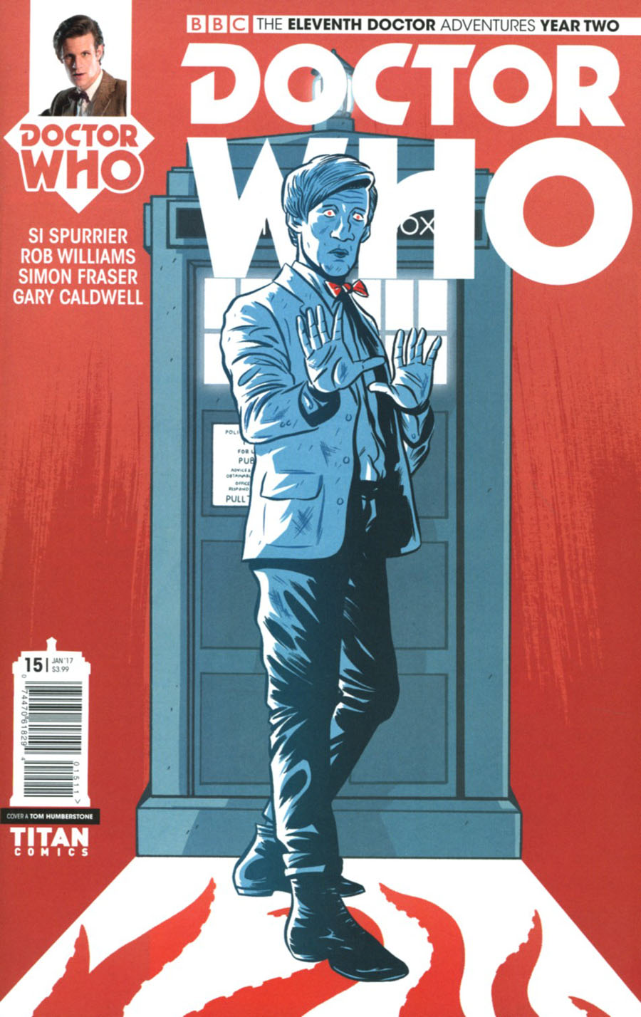 Doctor Who 11th Doctor Year Two #15 Cover A Regular Tom Humberstone Cover
