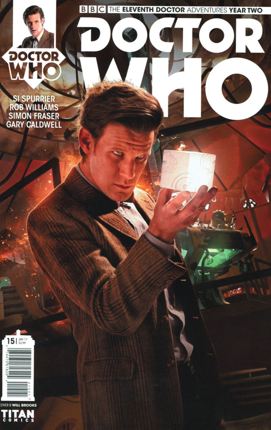 Doctor Who 11th Doctor Year Two #15 Cover B Variant Photo Cover