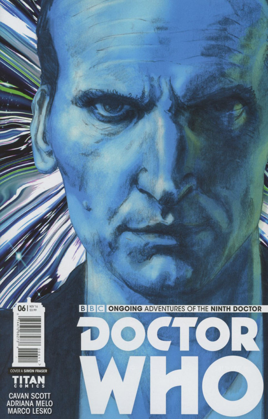 Doctor Who 9th Doctor Vol 2 #6 Cover A Regular Simon Fraser Cover