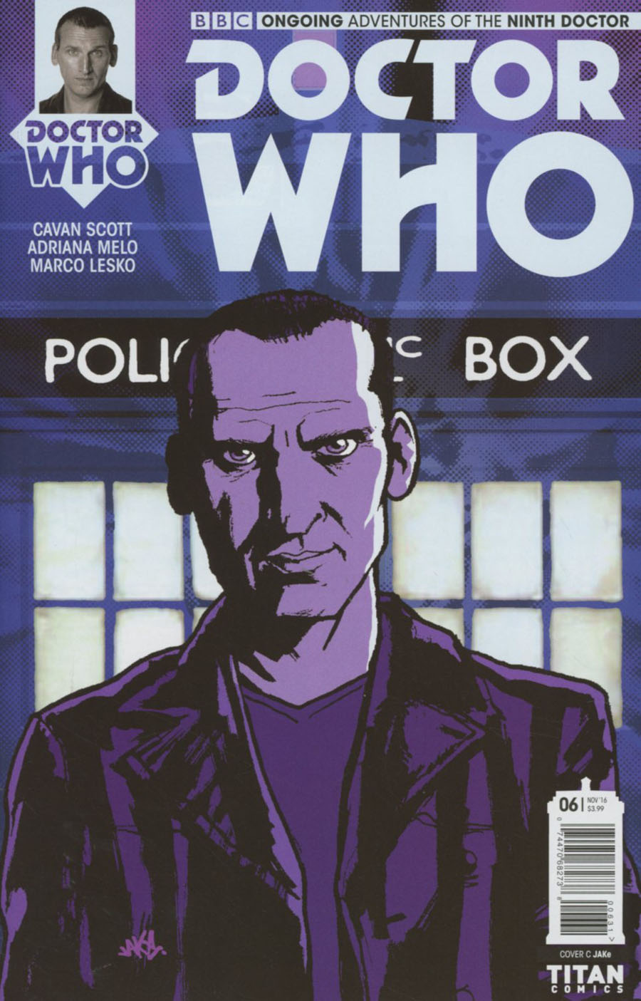 Doctor Who 9th Doctor Vol 2 #6 Cover C Variant Jake Cover