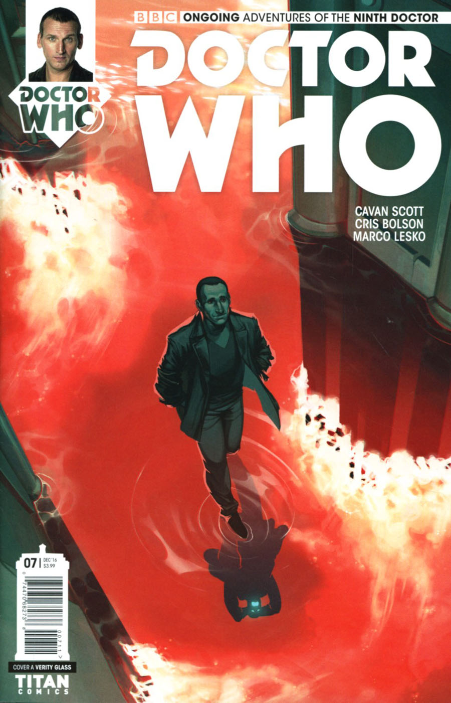 Doctor Who 9th Doctor Vol 2 #7 Cover A Regular Verity Glass Cover