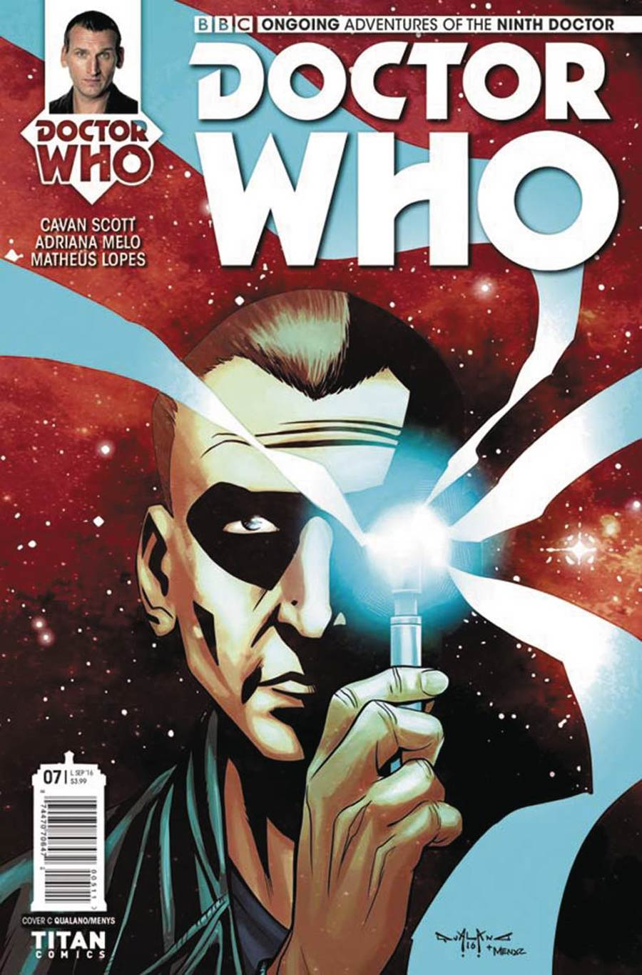 Doctor Who 9th Doctor Vol 2 #7 Cover C Variant Pasquale Qualano Cover