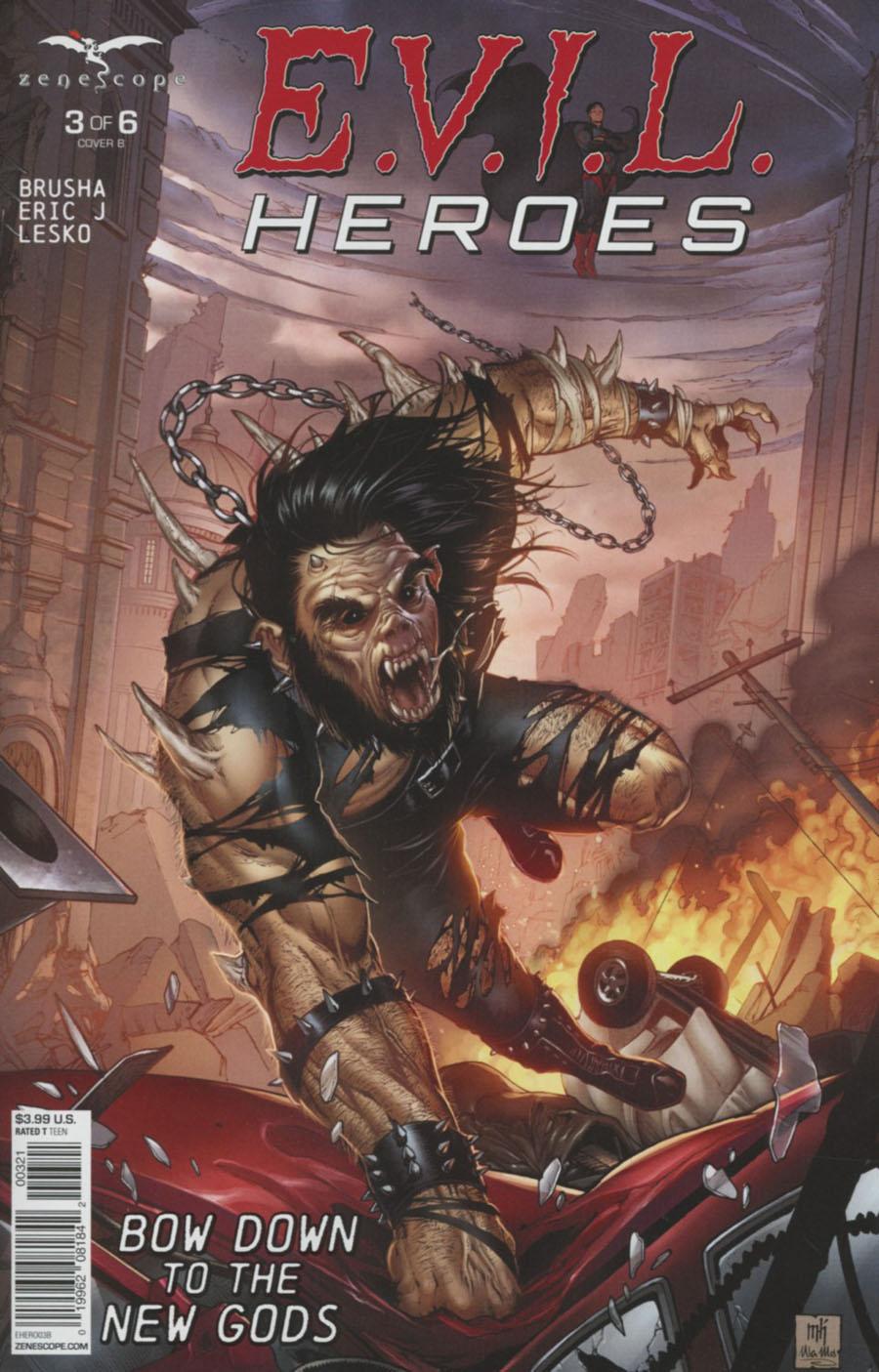 Evil Heroes #3 Cover B Mike Krome