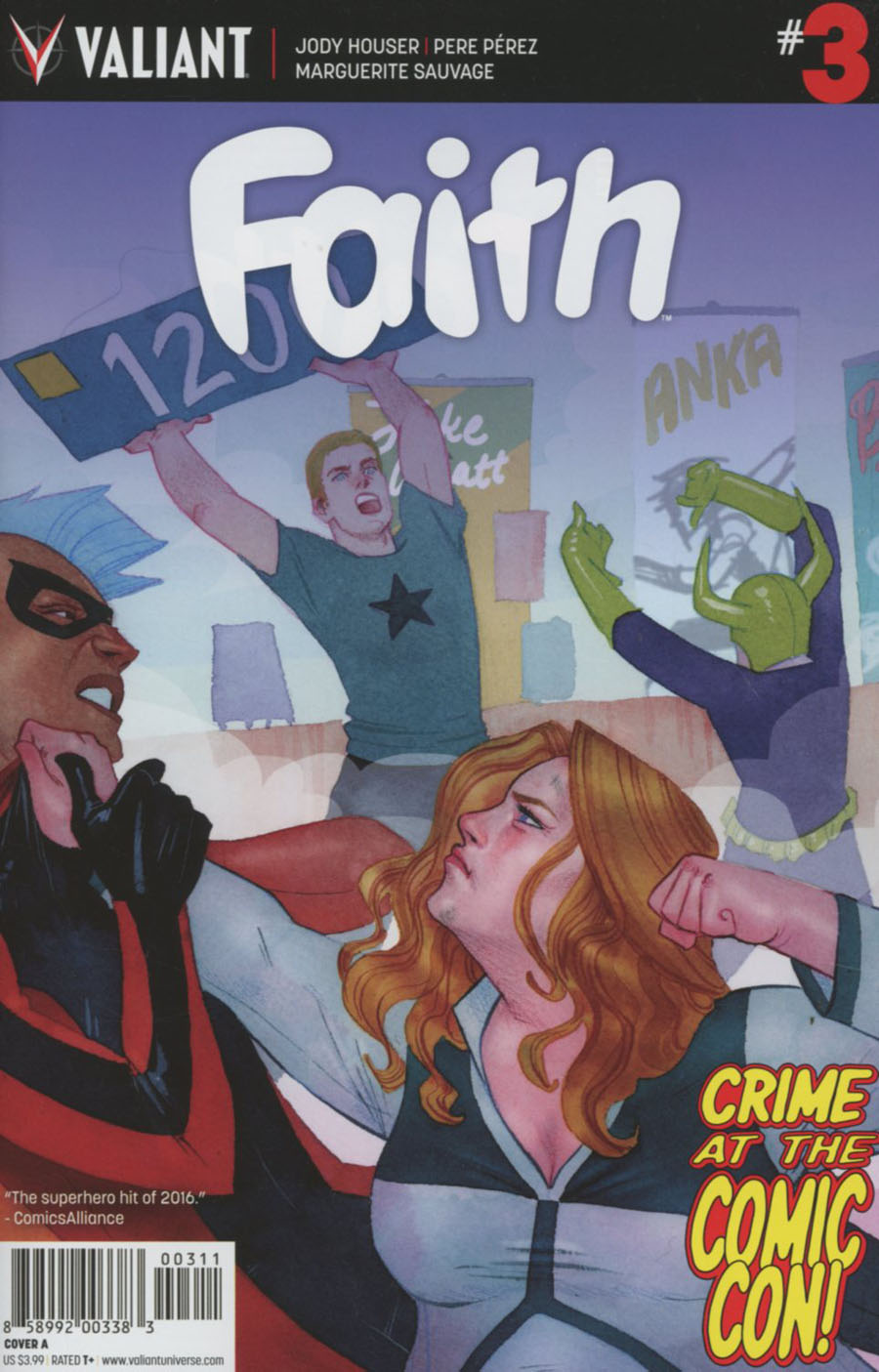 Faith (Valiant Entertainment) Vol 2 #3 Cover A Regular Kevin Wada Cover